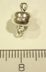Magneet slot verzilverd 7x11