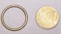 22mm metalen ring 1,8mm dik draad brons kleur