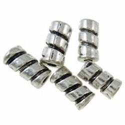 Metalen kraal MK40 Nikkelvrij