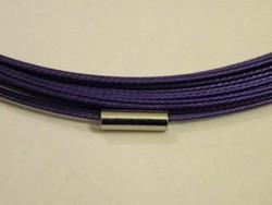 Spang met draaislot +/- 45cm lang Violet