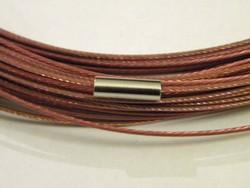 Spang met draaislot +/– 45cm lang Oudroze