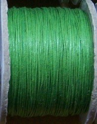 Waxkoord 0,5 mm parrot groen #535 x