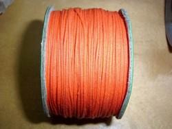 Waxkoord 0,5 mm oranje #15 x