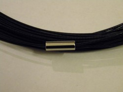 Spang met draaislot +/- 45cm lang Zwart