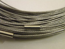 Aanbieding !! Spang met draaislot +/- 45cm lang Zilver