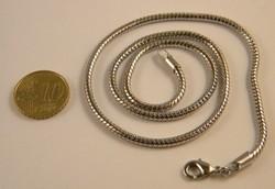 Stevige nikkelvrije ketting +/- 45cm lang 3mm dik
