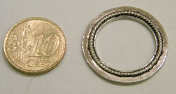 Metalen sierring #5 27mm
