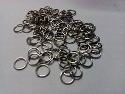 100 4mm ringetjes nikkelkleurig