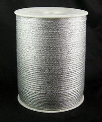 3 mm organza lint zilver C-S