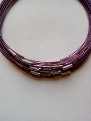 Spang met draaislot +/- 45cm lang Darkviolet