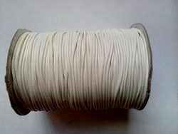 Waxed cotton 1,5 mm HQC-108 wit