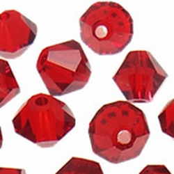 5301 6mm dark red coral