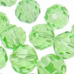 5000 6mm light peridot