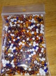 50 gram 3 en 4 mm rocailles MIX  #1 aanbieding