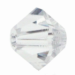 8mm Bicone Czech Crystal #001