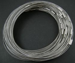 Spang met draaislot 46 cm zilver