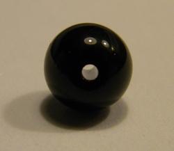 Glasparel 8mm zwart