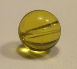 Glasparel 8mm goudgeel