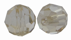 8mm Rond Czech Crystal #101-Honey