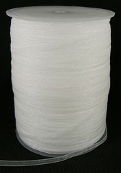 3 mm organza lint wit C01