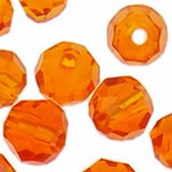 5000 4mm rond fire opal