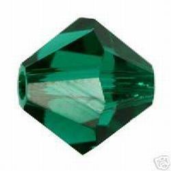 Swarovski 6mm type 5301 Emerald