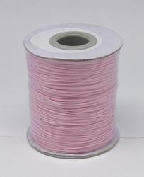 Wax koord 0,5mm pink