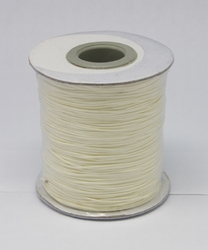 Wax koord 0,5mm beige