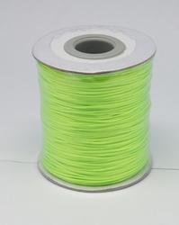Wax koord 0,5mm lime