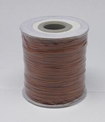 Wax koord 0,5mm sienna