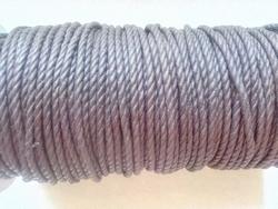 Twist waxkoord 2,5mm bruin