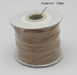 Wax koord 1 mm sienna