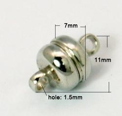 Magneet Slot 11x7 mm Nikkel