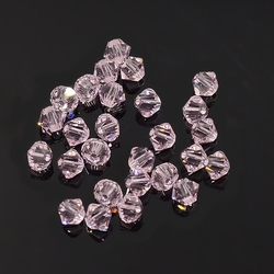 Swarovski 4mm type 5301 roseline