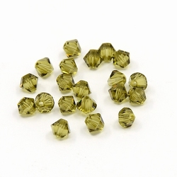 Swarovski 4mm type 5301 khaki