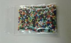 10 gram 2mm kraaltjes gemixte kleuren