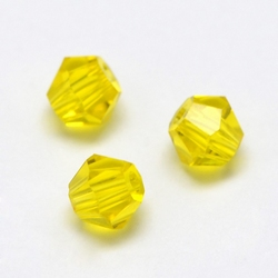Imitatie austrian crystal 4,5x4 mm Gold