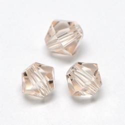 Imitatie austrian crystal 4,5x4 mm Bisque