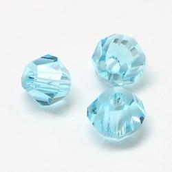 Imitatie austrian crystal 4,5x4 mm Paleturquoise