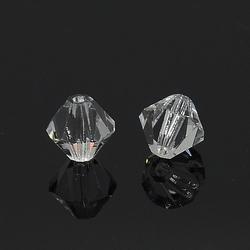 6 x 5,7 mm Bicone Czech Crystal #041