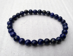 Lapis Lazuli armbandje 8mm kralen 19cm lengte