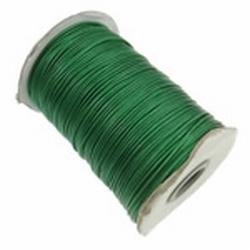 Waxed cotton 1mm Groen