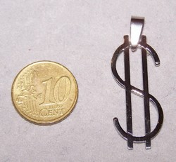 Roestvrijstalen Dollar Hanger