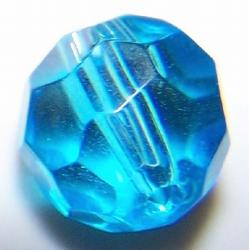 8mm facetkraal lichtblauw #20