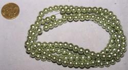 Streng 150 6mm glasparels groen