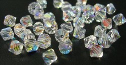 Swarovski 4mm type 5301 crystal AB