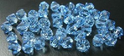 Swarovski 4mm type 5328 aqua