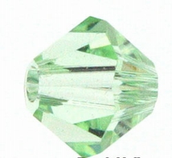 Swarovski 6mm type 5301 chrisolite