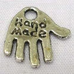 Metalen Hanger nikkel vrij HNV–3
