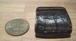 Grote Foliekraal vierkant zilvergrijs